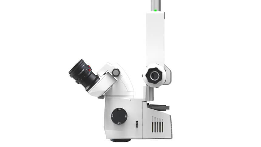 Labomed Prima Mµ Microscope Side