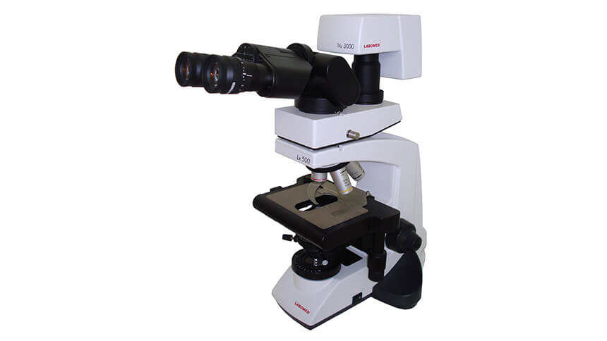 Labomed Lx 500 Clinical Research Laboratory Microscope With Video