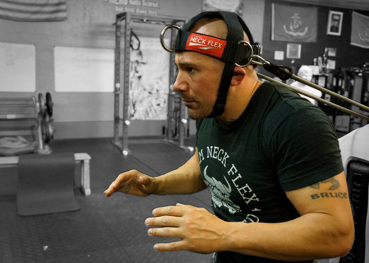 Neck Flex - A training gear we all need