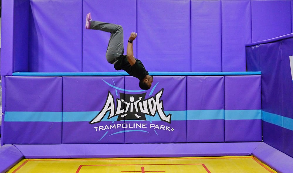 The art of trampoline-ing!