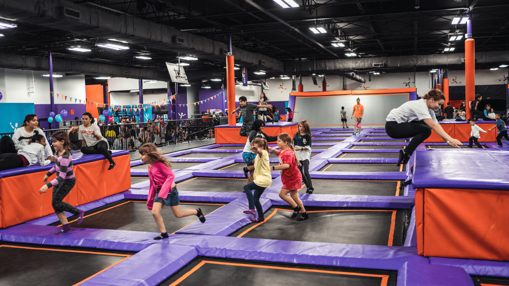 At what age should kids start trampolining?