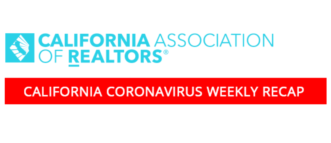 California Coronavirus Weekly Recap