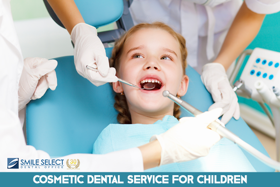 COSMETIC DENTISTRY FOR YOUNG CHILDREN