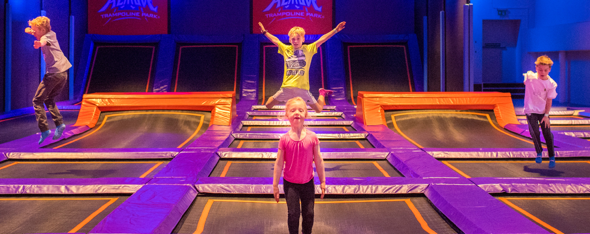 Play like an Olympian at Altitude Trampoline Park