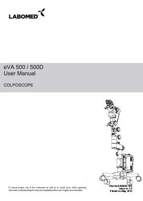 eVA Colposcope User Manual