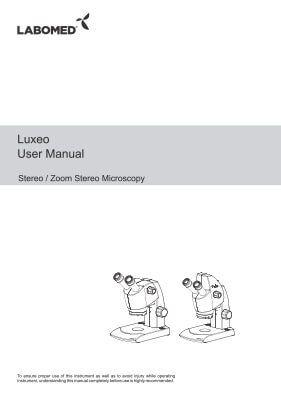 Luxeo 2S User Manual