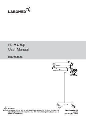 Prima Mµ User Manual