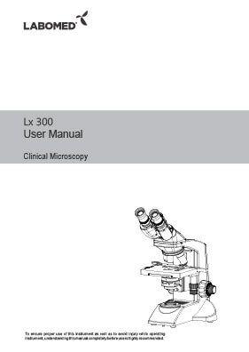Lx300 User Manual