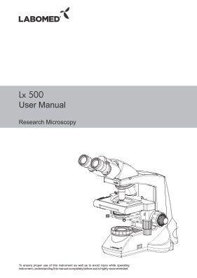 Lx500 User Manual