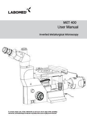 MET 400 User Manual