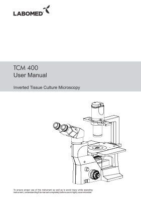 TCM 400 User Manual