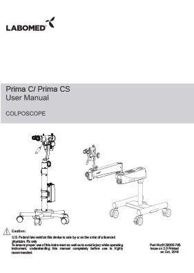 Prima CS User Manual